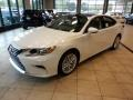 Lexus ES 350 Eminent White Pearl photo #1
