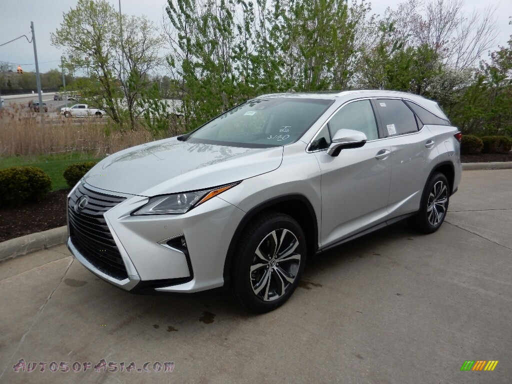 2018 RX 350L AWD - Silver Lining Metallic / Black photo #1