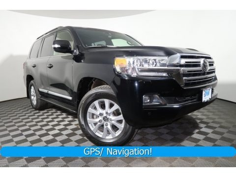 Midnight Black Metallic 2016 Toyota Land Cruiser 4WD