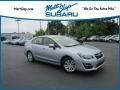 Subaru Impreza 2.0i Premium 4-door Ice Silver Metallic photo #1