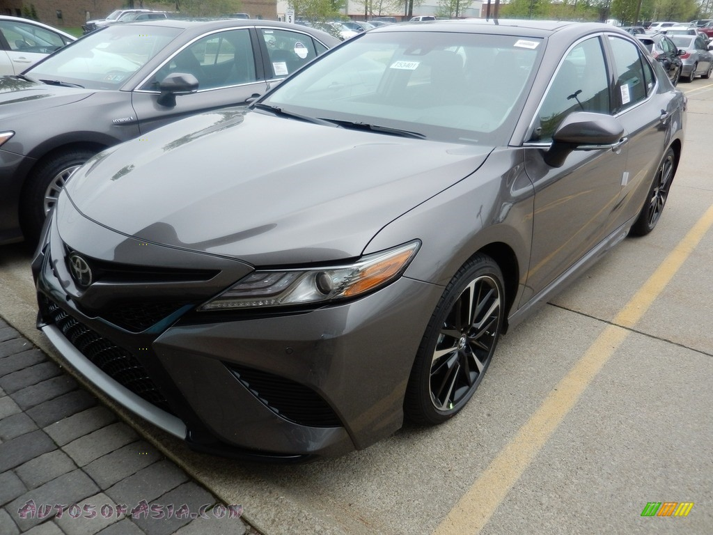 2018 Camry XSE V6 - Predawn Gray Mica / Black photo #1