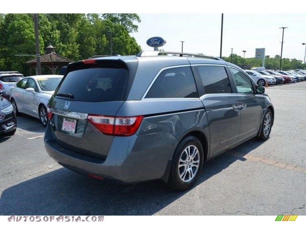 2013 Odyssey EX-L - Polished Metal Metallic / Gray photo #3