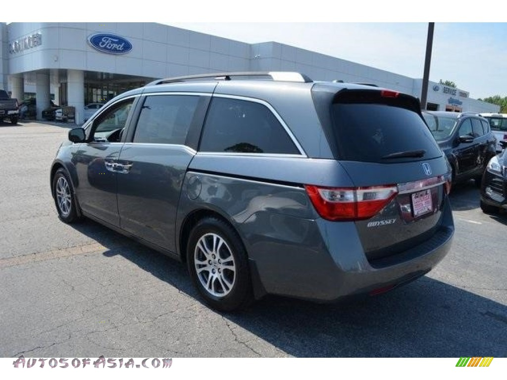 2013 Odyssey EX-L - Polished Metal Metallic / Gray photo #4