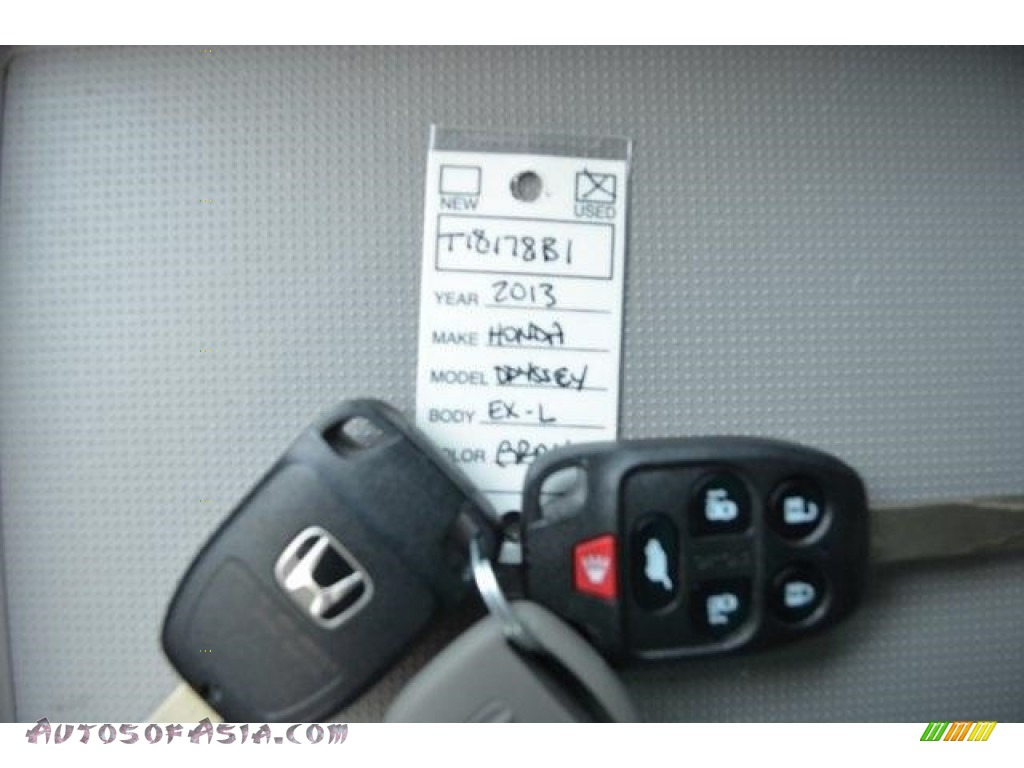 2013 Odyssey EX-L - Polished Metal Metallic / Gray photo #25