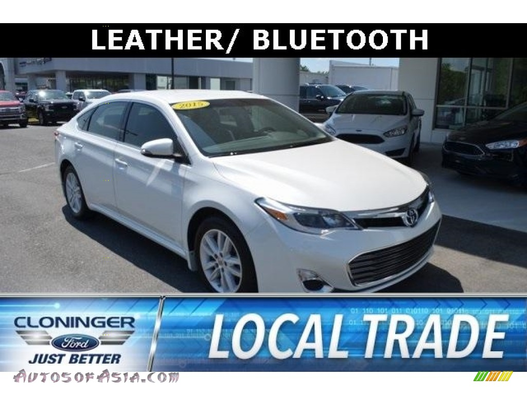 2015 Avalon Limited - Blizzard Pearl / Light Gray photo #1
