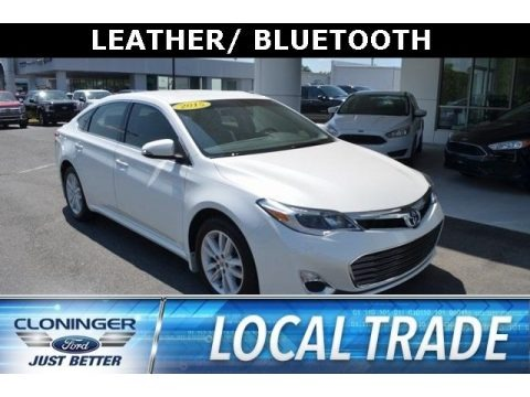 Blizzard Pearl 2015 Toyota Avalon Limited