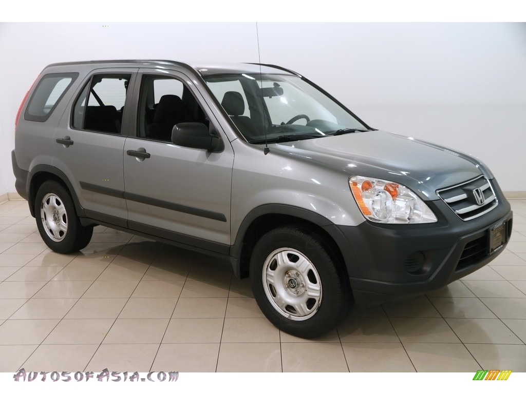 2006 CR-V LX - Silver Moss Metallic / Black photo #1