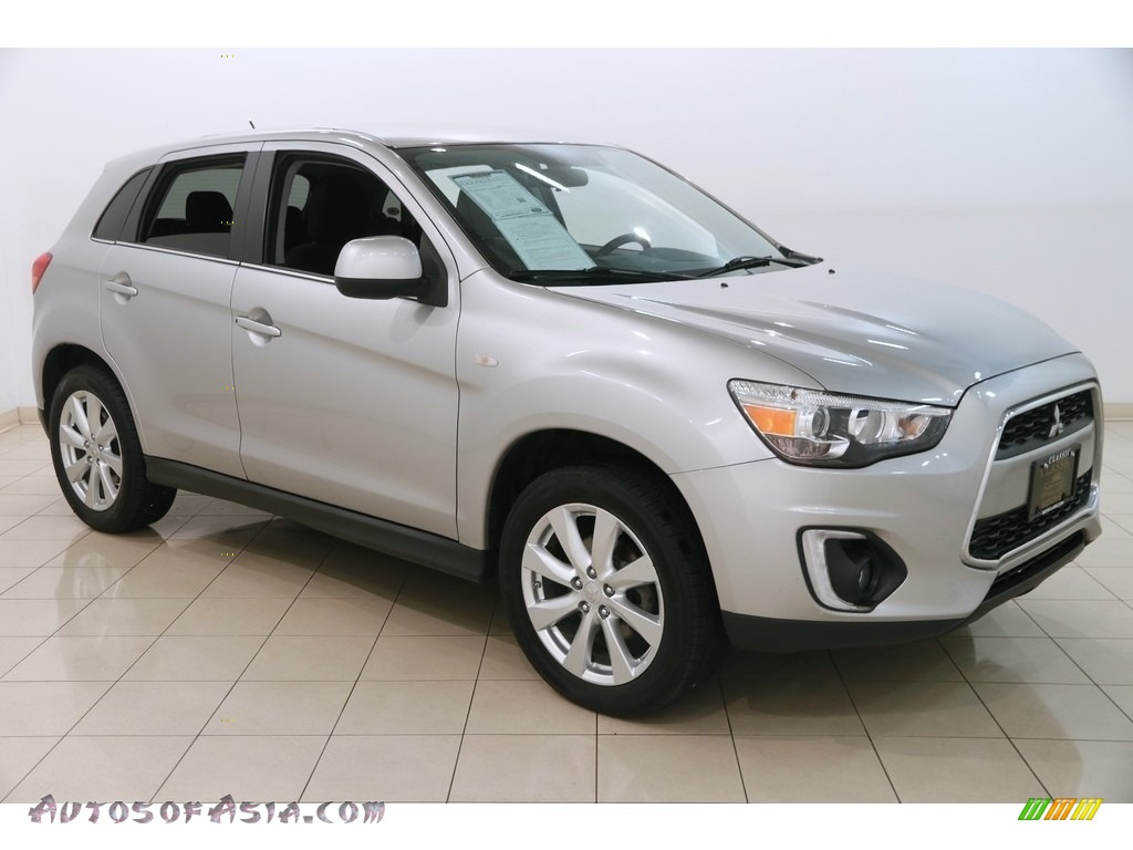2015 Outlander Sport SE AWC - Quick Silver / Black photo #1
