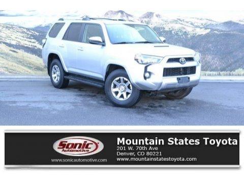 Classic Silver Metallic 2015 Toyota 4Runner Trail 4x4