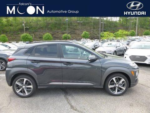 Thunder Gray 2018 Hyundai Kona Ultimate AWD