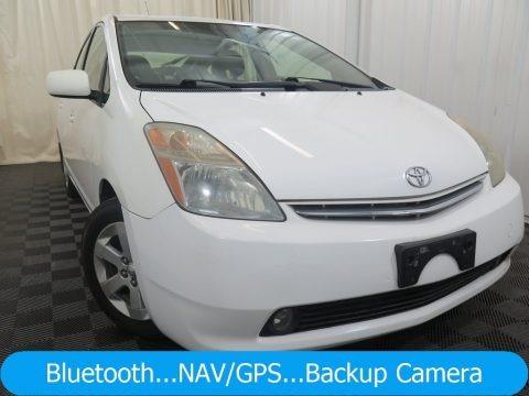 Super White 2006 Toyota Prius Hybrid