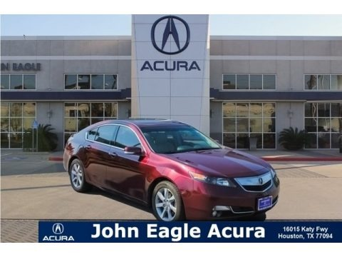 Basque Red Pearl II 2013 Acura TL