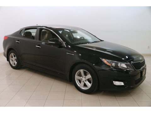 Ebony Black 2015 Kia Optima LX