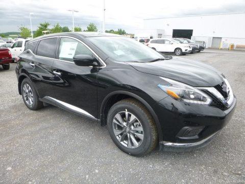 Magnetic Black 2018 Nissan Murano S AWD