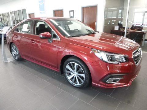Crimson Red Pearl 2018 Subaru Legacy 2.5i Limited