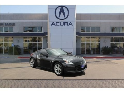 Magnetic Black 2009 Nissan 370Z Touring Coupe
