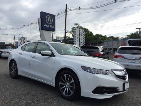 Bellanova White Pearl 2015 Acura TLX 2.4