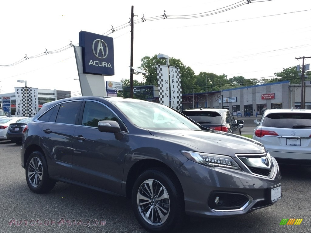 2017 RDX Advance AWD - Modern Steel Metallic / Graystone photo #1