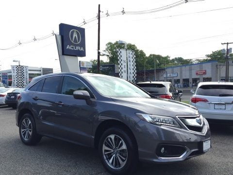 Modern Steel Metallic 2017 Acura RDX Advance AWD