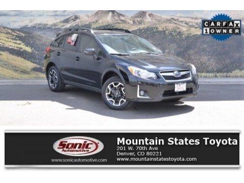 Crystal Black Silica 2016 Subaru Crosstrek 2.0i Limited