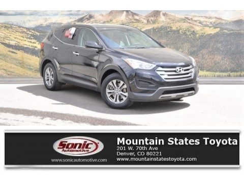 Twilight Black 2014 Hyundai Santa Fe Sport AWD