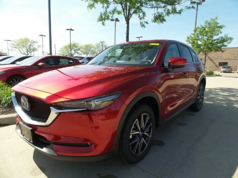 Soul Red Crystal Metallic 2018 Mazda CX-5 Grand Touring AWD