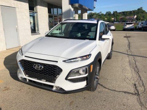 Chalk White 2018 Hyundai Kona Ultimate