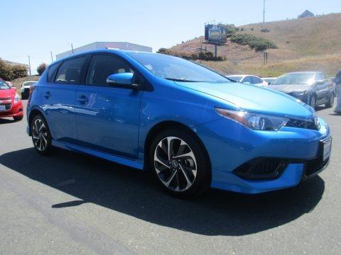 Electric Storm Blue 2017 Toyota Corolla iM