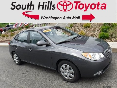 Carbon Gray 2009 Hyundai Elantra GLS Sedan