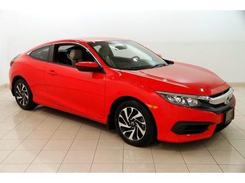 Rallye Red 2016 Honda Civic LX Coupe