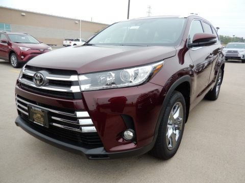 Ooh La La Rouge Mica 2018 Toyota Highlander Limited AWD