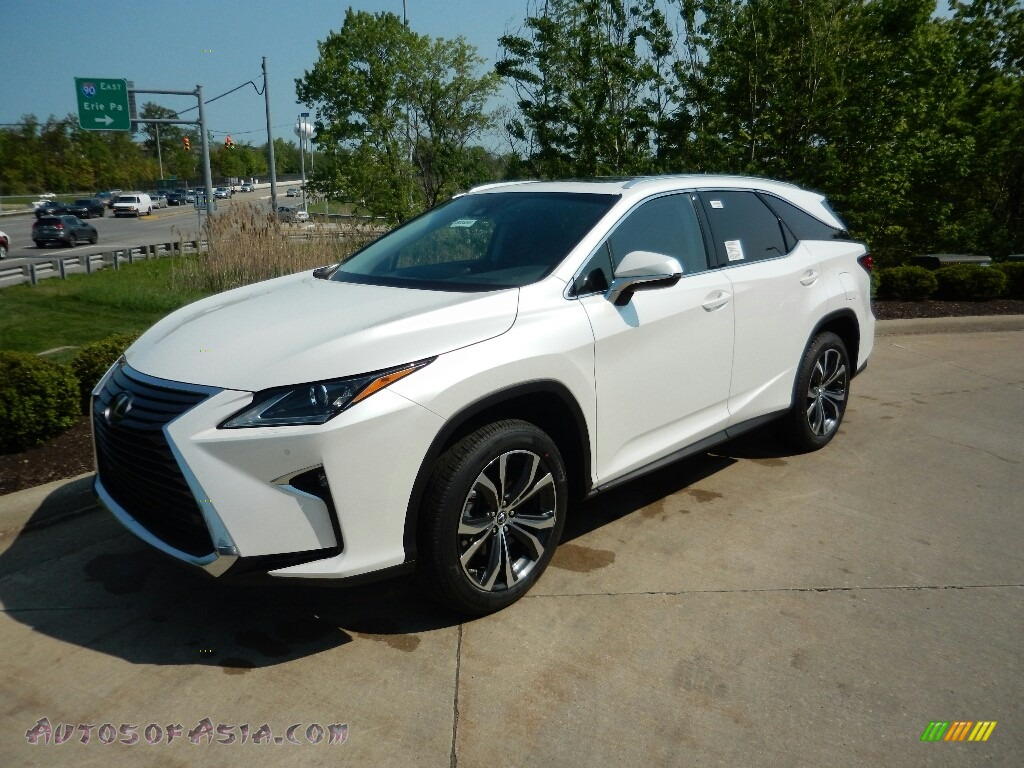 2018 RX 350L AWD - Eminent White Pearl / Black photo #1