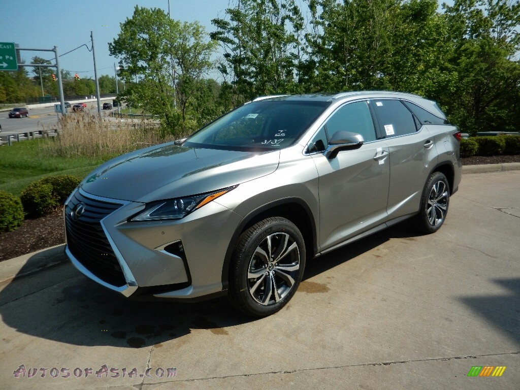2018 RX 350L AWD - Atomic Silver / Black photo #1