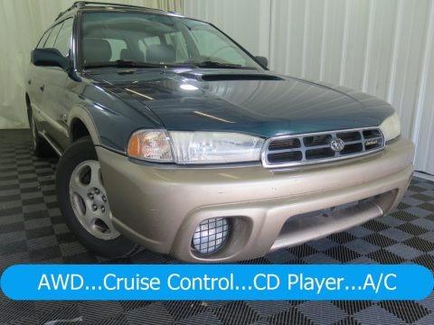 Spruce Green Pearl 1999 Subaru Legacy Outback Wagon