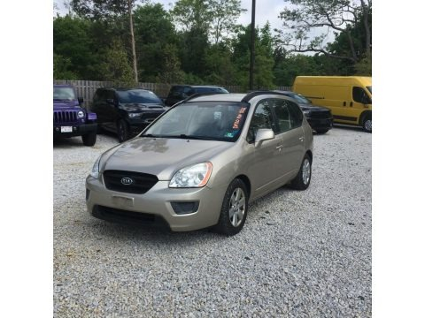 Light Almond Beige 2008 Kia Rondo LX V6