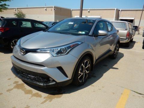 Silver Knockout Metallic 2018 Toyota C-HR XLE