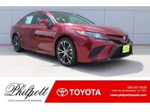 Ruby Flare Pearl 2018 Toyota Camry SE