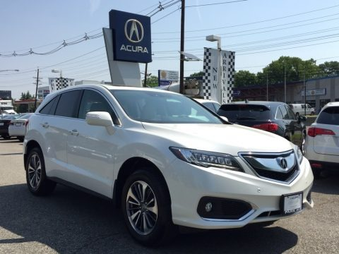 White Diamond Pearl 2017 Acura RDX Advance AWD