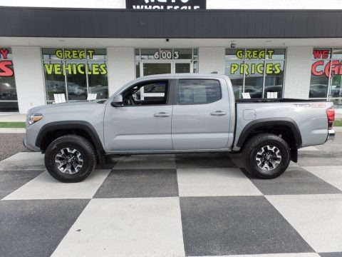 Cement 2018 Toyota Tacoma TRD Off Road Double Cab 4x4