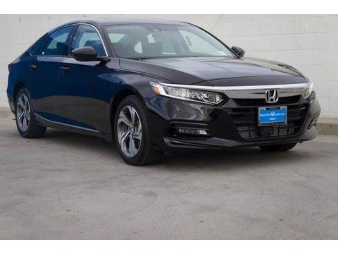 Crystal Black Pearl 2018 Honda Accord EX Sedan