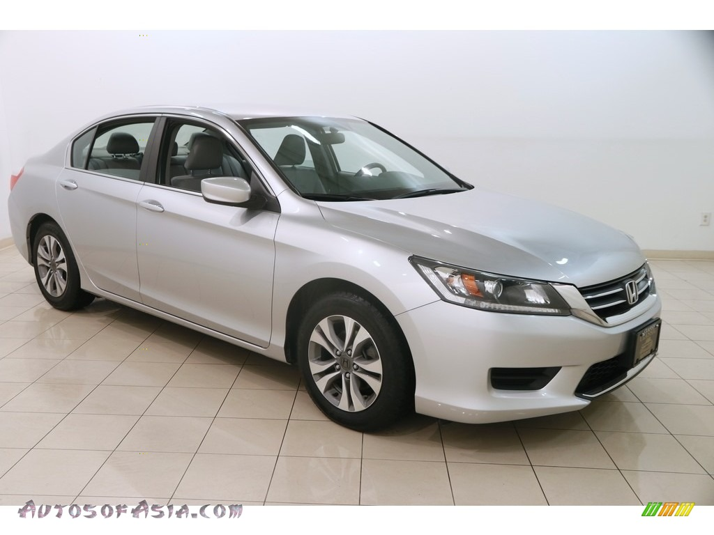 Alabaster Silver Metallic / Gray Honda Accord LX Sedan