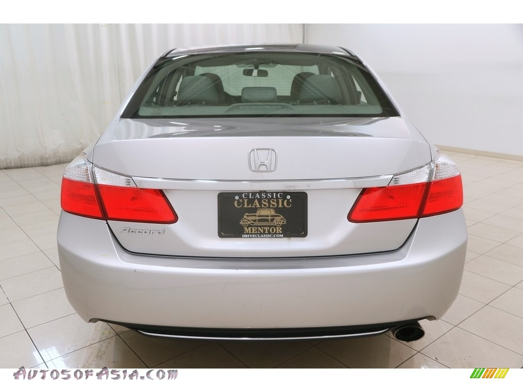 2014 Accord LX Sedan - Alabaster Silver Metallic / Gray photo #20