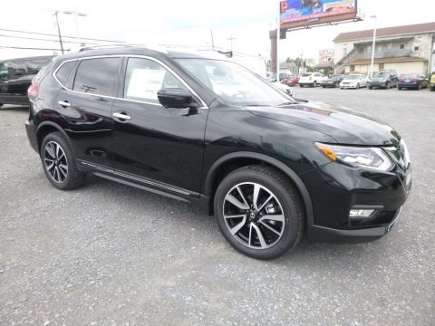 Magnetic Black 2018 Nissan Rogue SL AWD