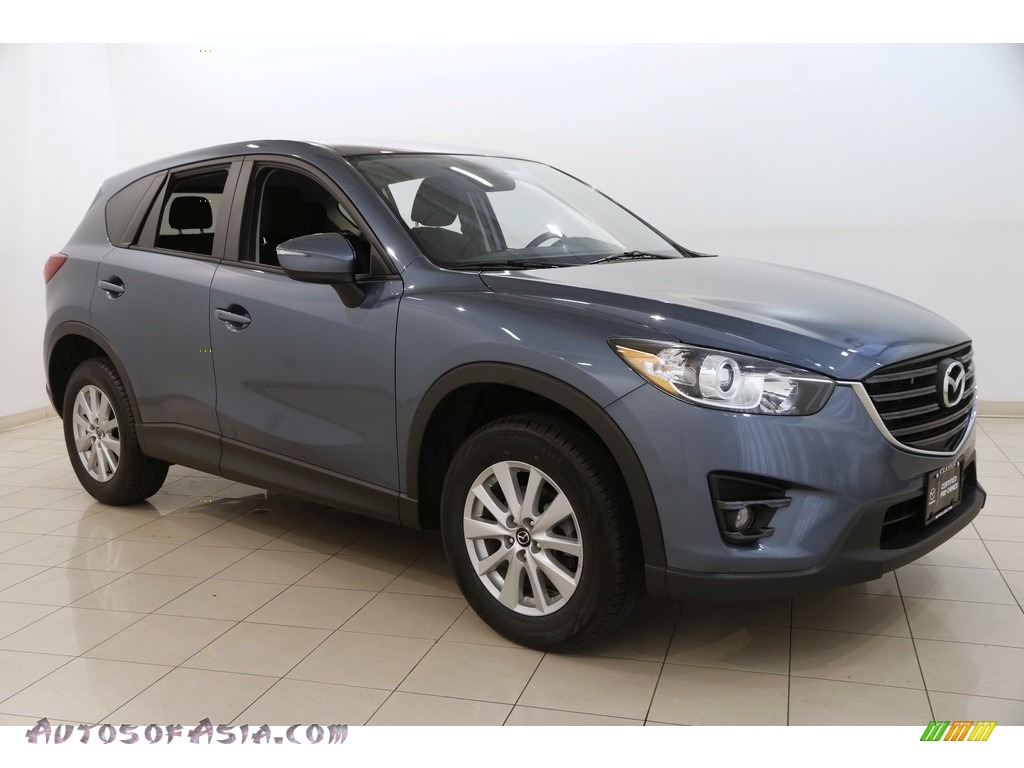 2016 CX-5 Touring AWD - Blue Reflex Mica / Black photo #1