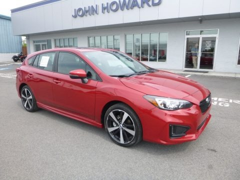 Lithium Red Pearl 2018 Subaru Impreza 2.0i Sport 5-Door