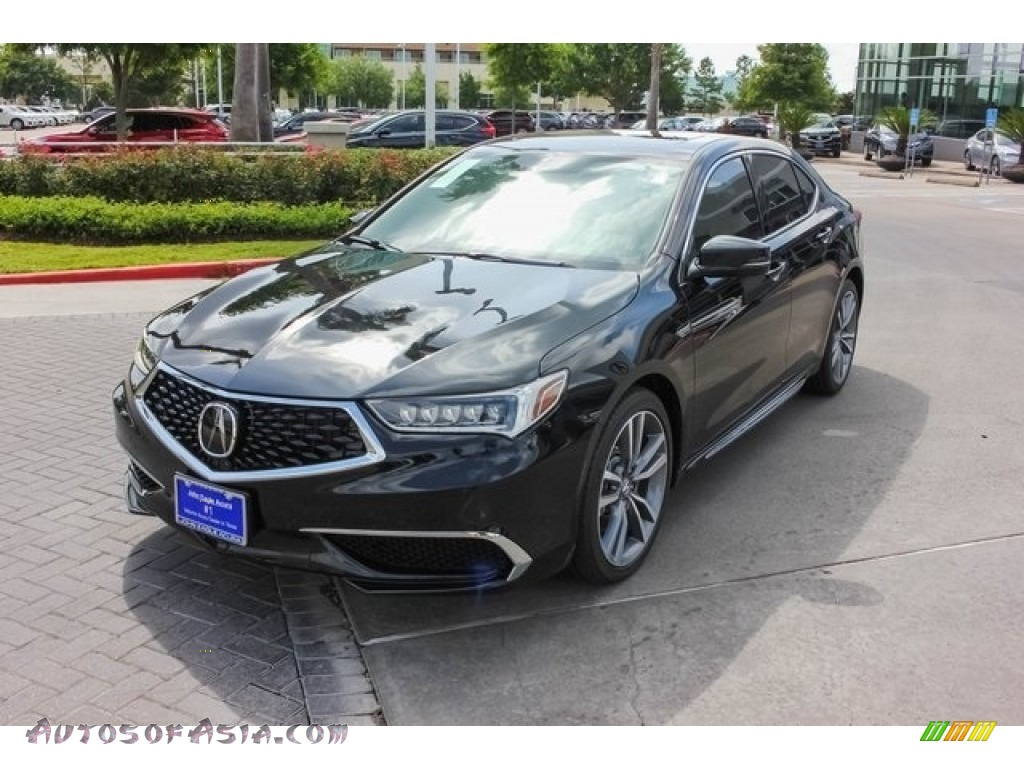 2019 TLX V6 Sedan - Crystal Black Pearl / Parchment photo #3