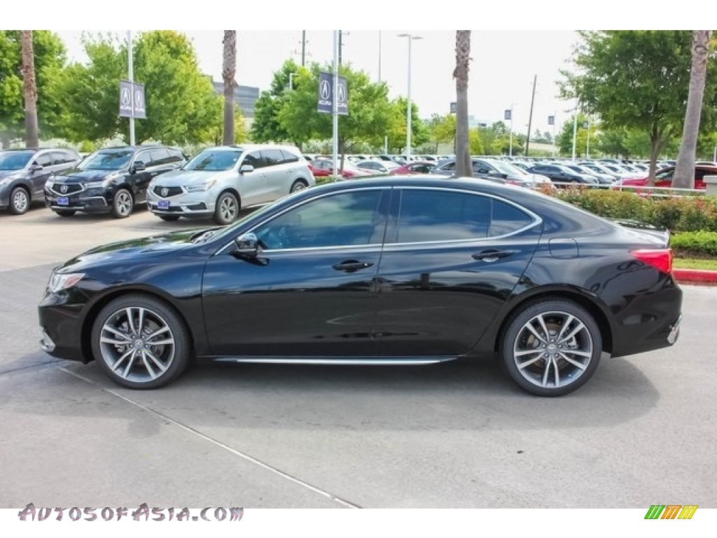 2019 TLX V6 Sedan - Crystal Black Pearl / Parchment photo #4