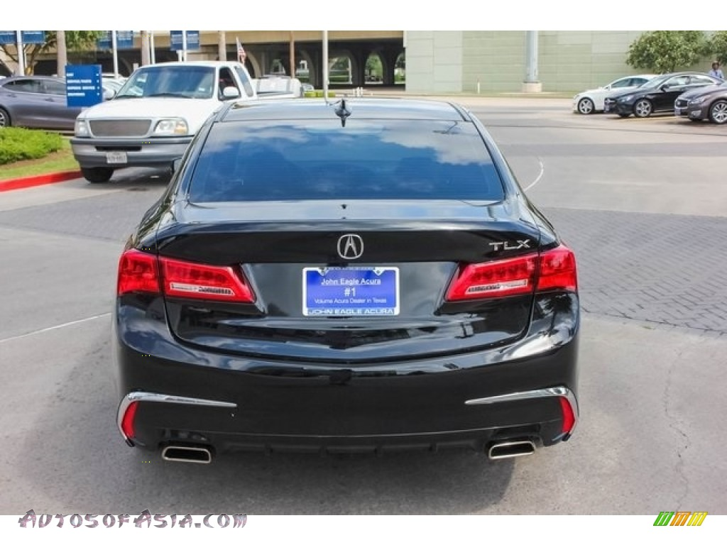 2019 TLX V6 Sedan - Crystal Black Pearl / Parchment photo #6