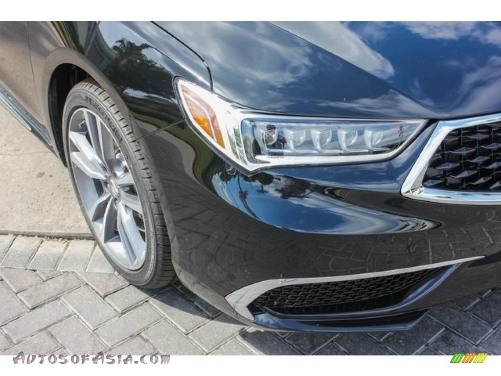 2019 TLX V6 Sedan - Crystal Black Pearl / Parchment photo #10