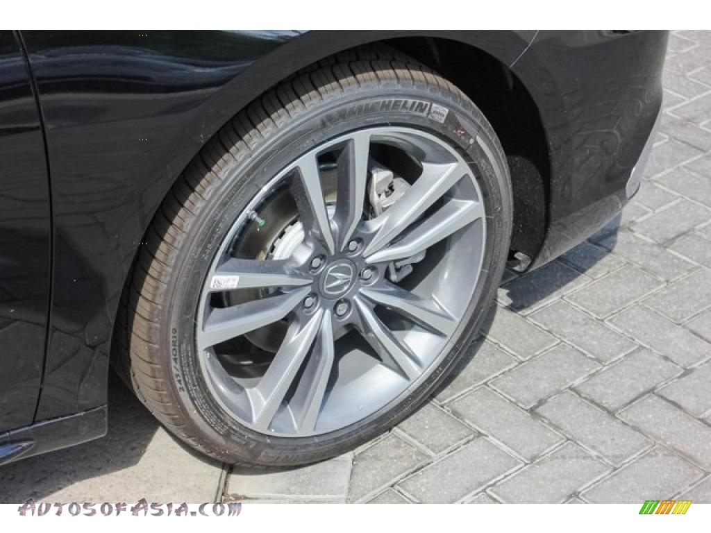 2019 TLX V6 Sedan - Crystal Black Pearl / Parchment photo #11